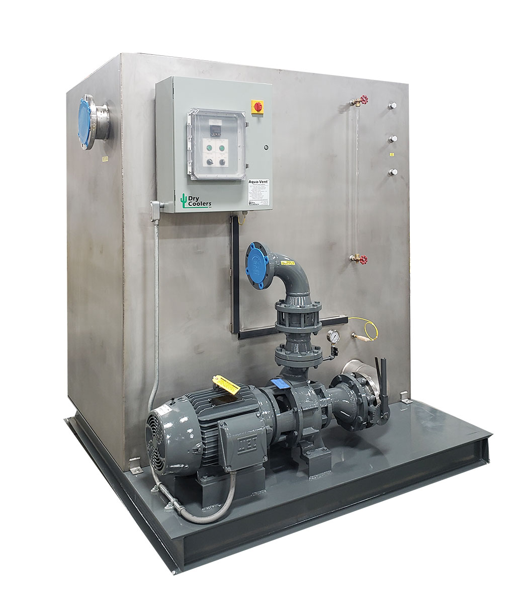350 gpm Tower Water Pump Station with Stainless Steel Tank